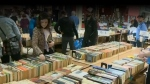 The book market also set the record for highest opening day in the sales' history.