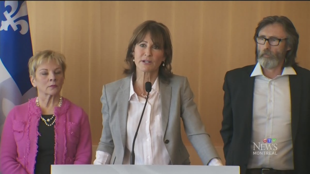 Kathleen Weil announces $950,000 in funding for English-language groups in Quebec over the next two years.