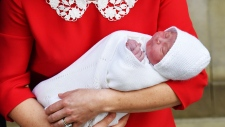 Duchess of Cambridge gives birth to a baby boy