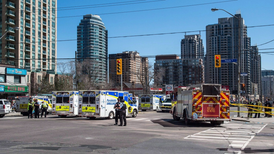 Toronto pedestrian incident