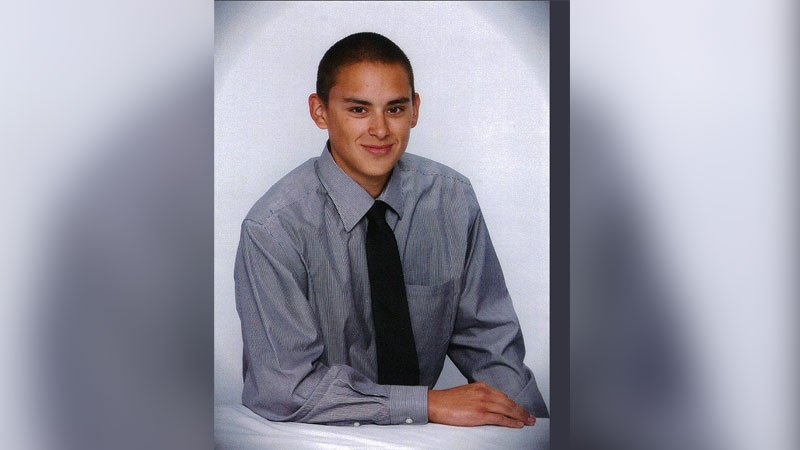 Devon Allaire-Bell, 19, was stabbed to death seven years ago near Frank Hurt Secondary School in Surrey. (Handout / Integrated Homicide Investigation Team)