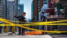 Van kills pedestrian in Toronto