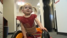 Evelyn Moore has been rehabbing at a paralysis recovery centre for the past year.