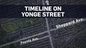 Toronto timeline title card