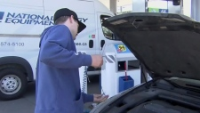 Record high gas prices arrive