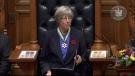 Farewell ceremony for Lt.-Gov. Judith Guichon