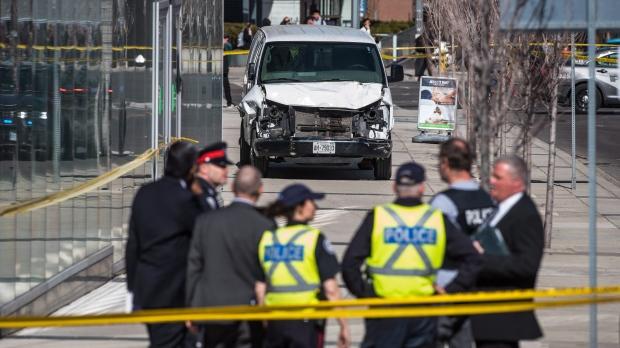 TV film crew cancels shoot at site near Toronto van attack - CTV News