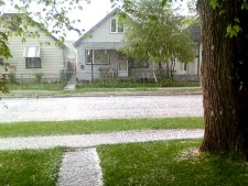 CTV viewer Megan Braun sent in this picture of hail pouring near her home on Selkirk Avenue at about 7:30 p.m. Monday.  June 1, 2009