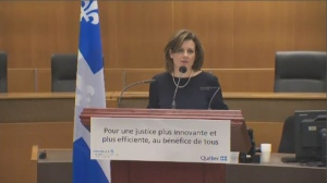 Quebec hoping to reduce use of paper in justice system | CTV News