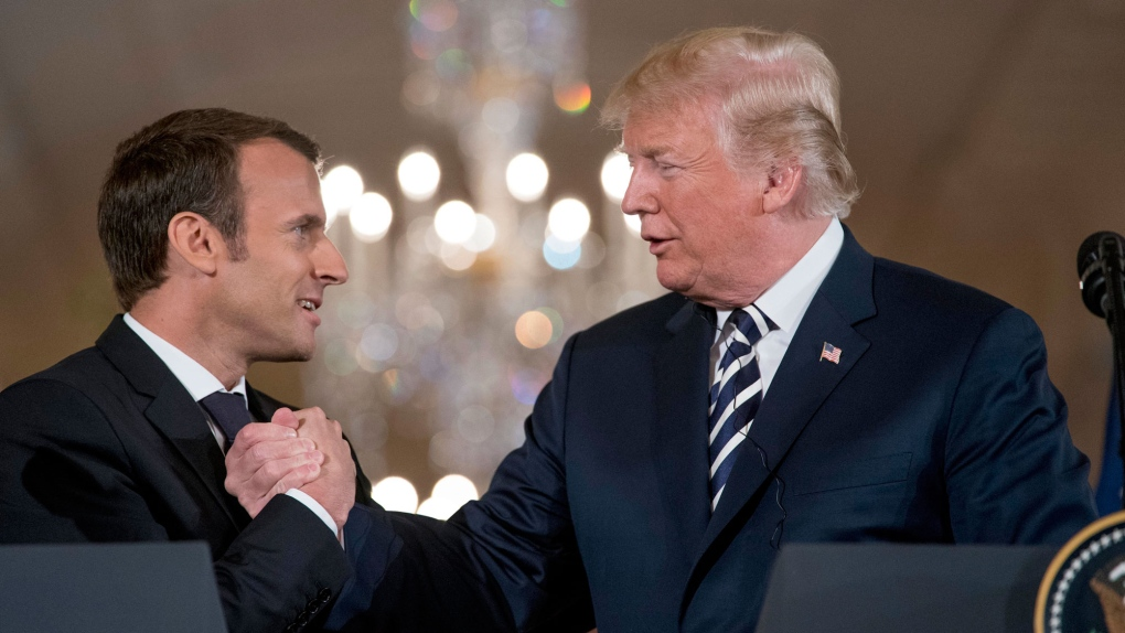 France S Macron Seeks To Forge European Front Against Trump Ctv News