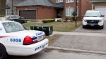 Police cars remain parked outside of the Toronto area home of Alek Minassian in Richmond Hill, Ont., on Tuesday, April 24, 2018. A man accused of driving a van into pedestrians along a stretch of a busy Toronto street has been charged with 10 counts of first-degree murder. Alek Minassian, of Richmond Hill, Ont., is also facing 13 counts of attempted murder. THE CANADIAN PRESS/Chris Young