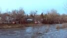 Flooding concerns near Drumheller