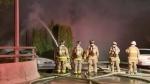 Fire tears through Pitt Meadows barn