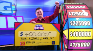 Terry Restoule of North Bay wins $400,000