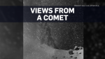 Stunning views from a comet in deep space