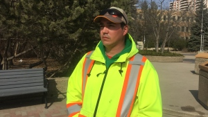 Ken Thomas says he was taken out of town by Saskatoon police. (Laura Woodward/CTV News)