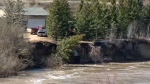 Rising water forces some Southern Albertans from their homes