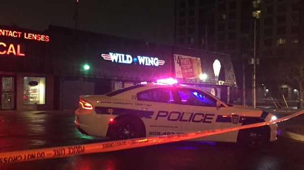 One person was taken to a trauma centre with serious injuries after a stabbing in Brampton. (Mike Nguyen/ CP24)