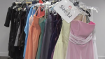 Young women are able to select a dress and accessories for free as part of the project.