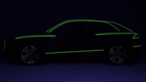 Audi Q7 SUV teaser image