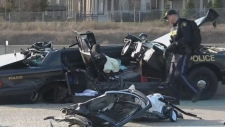 Waterloo man charged in serious Highway 407 crash