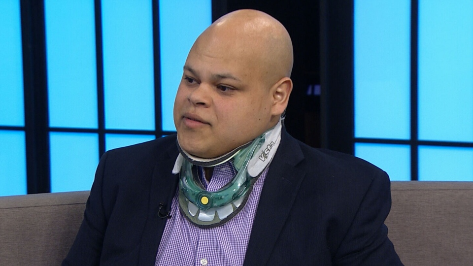 Lawyer and author Jamil Jivani appears on CTV's Your Morning.