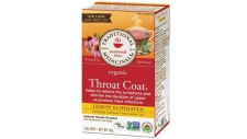 "A potential salmonella contamination has prompted the recall Traditional Medicinals ""Throat Coat Lemon Echinacea"" tea. (Health Canada)"