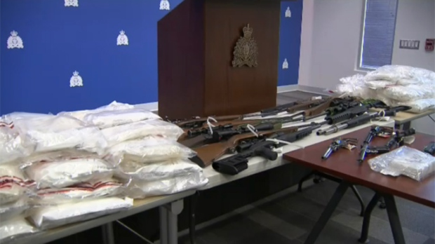 William Milton Barnes, 51, faces 11 charges after a six-month joint investigation resulted in the seizure of more than 100 kilograms of illicit narcotics and 15 firearms, according to RCMP. April 25, 2018. (CTV)
