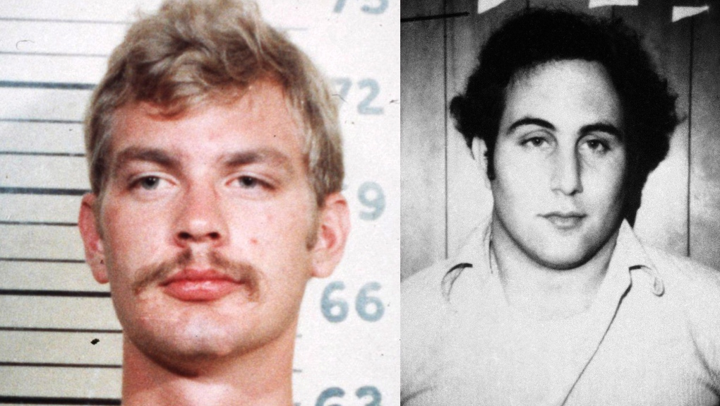 Serial killers Jeffrey Dahmer and David Berkowitz