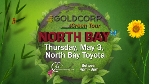 North Bay Goldcorp Green Tour 2018 date