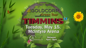 Timmins Green Tour 2018 date