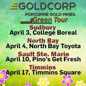 Goldcorp Green Tour 2018
