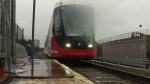 First ride aboard Ottawa's LRT train