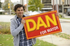 Fred Ewanuick as Dan in CTV's original series 'Dan for Mayor.'