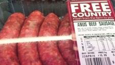 Unfortunate spelling mistake on sausage label rais