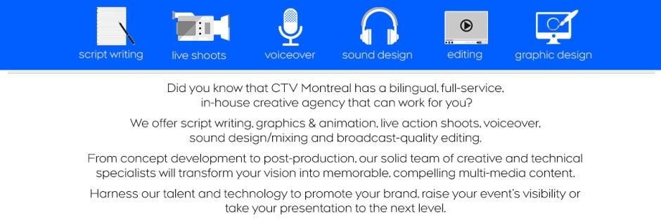 CTV's bilingual, full-service creative agency