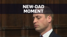 Prince William spotted in relatable new-dad moment