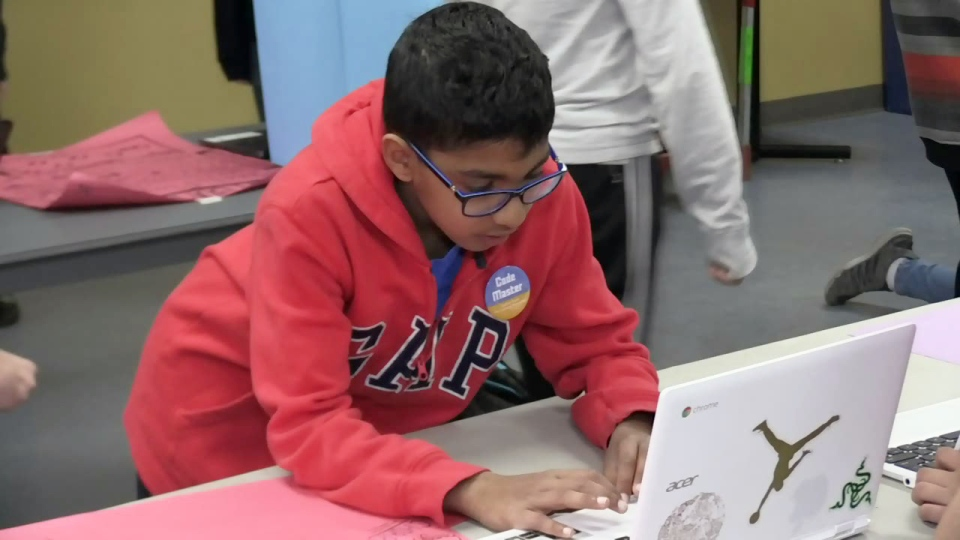 About 120 students showed off video games they had developed at an arcade event held at Wilfrid Laurier University.