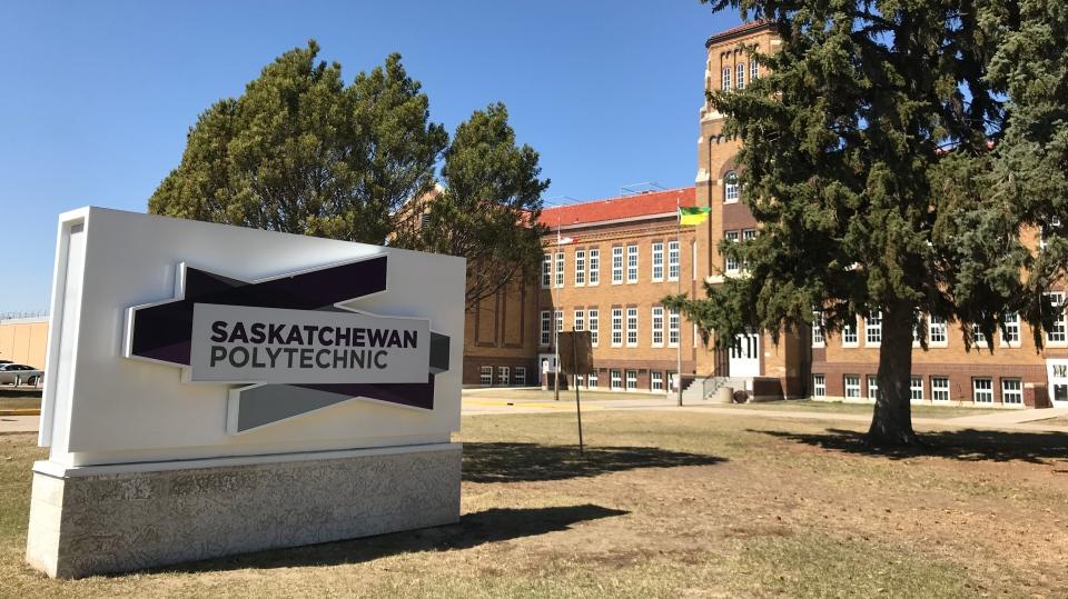 Saskatchewan Polytechnic's campus in Moose Jaw is shown in this file photo (Colton Wiens / CTV Regina)