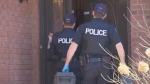 police evidence van attack