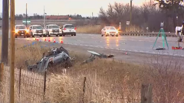 Footage of fatal collision shows moment of crash | CTV News