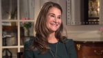 Philanthropist Melinda Gates talks to CTV's Ottawa Bureau Chief Joyce Napier in Ottawa on Thursday, April 26, 2018.