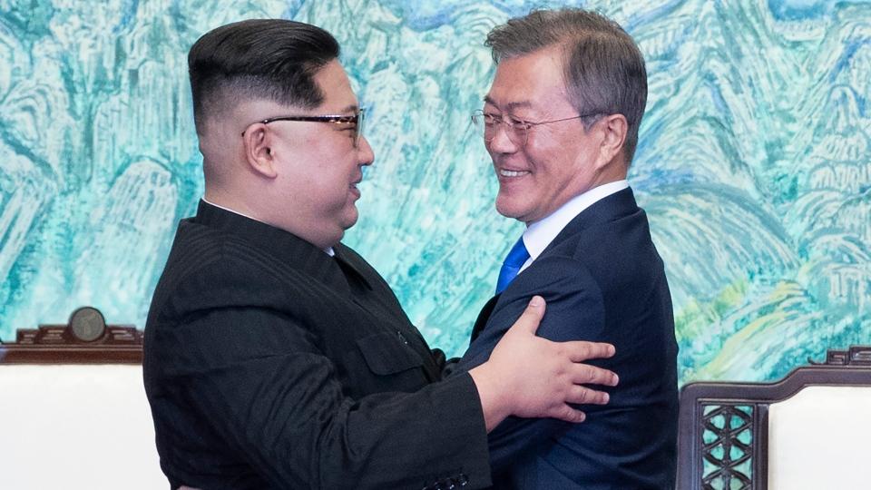 Korean leaders meet