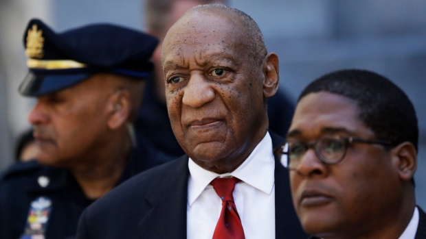 Bill Cosby leaves the the Montgomery County court