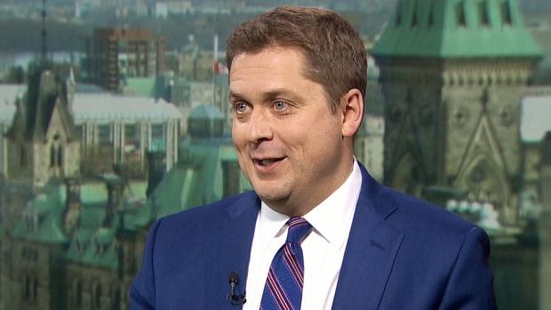 Conservative Leader Andrew Scheer speaks to CTV's Question Period.