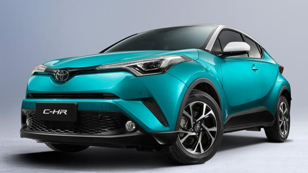 Toyota all-electric C-HR