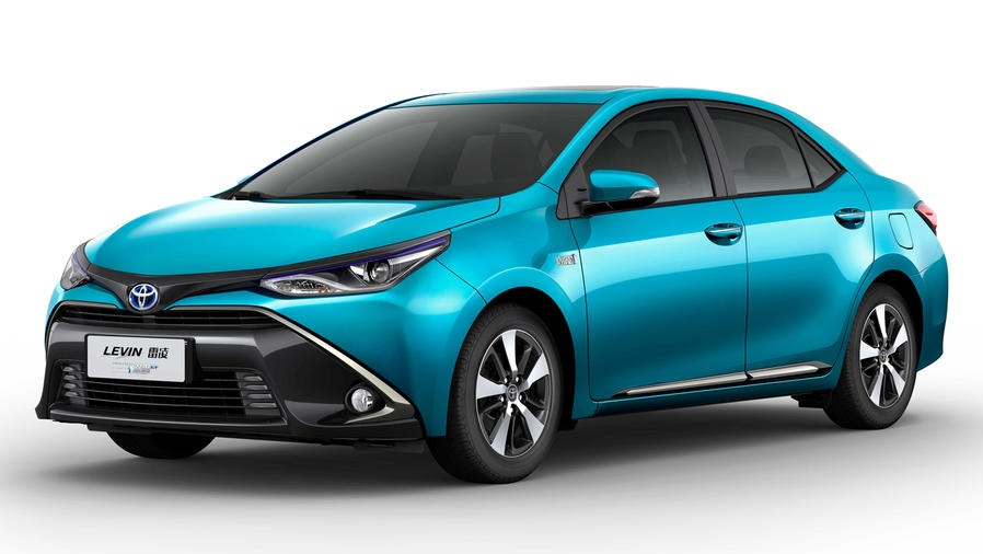 Toyota's Levin plug-in hybrid saloons will land in 2019. (© Toyota)