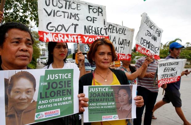 Philippines protest