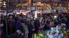 Toronto van attack vigil Friday April 27