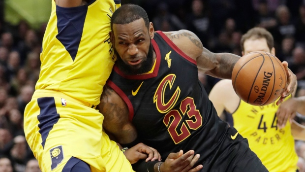 LeBron James offered an IV for cramps in Game 7 but refused